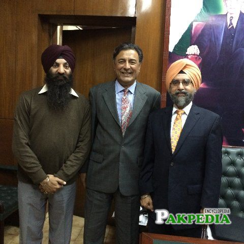 With Punjab Home Minister and Environment Minister