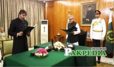 Ali Muhammad Khan sworn in as a Ministry of state