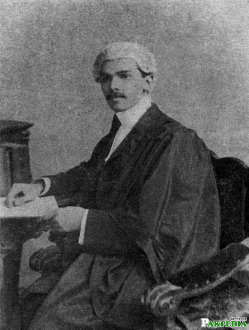 Jinnah as a barrister
