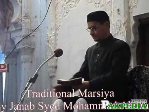 Traditional Marasiya by Syed Mohammad Ahsan