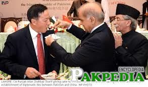 shehbaz sharif meet chinies ambassador