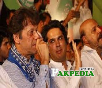 Hashim Jawan Bakht joined Pakistan Tehreek e insaf