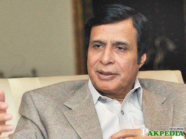 Nice photo of Chaudhry Pervaiz Elahi