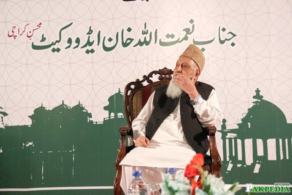 Jinab Naimatullah khan Advocate