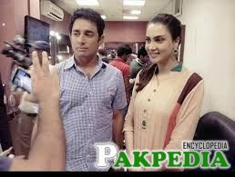 Saeed Ajmal Spotted With Actress Fiza Ali ..