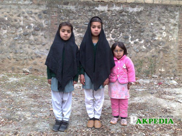 Daughters of Farman Ali khan