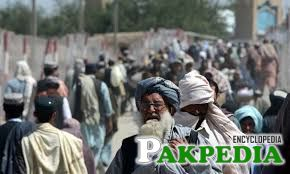 The people of Chaman city