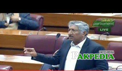 Moeen Wattoo in National Assembly