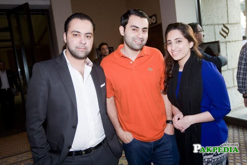 Asher Schon, Khizer Schon and Nissa Husain