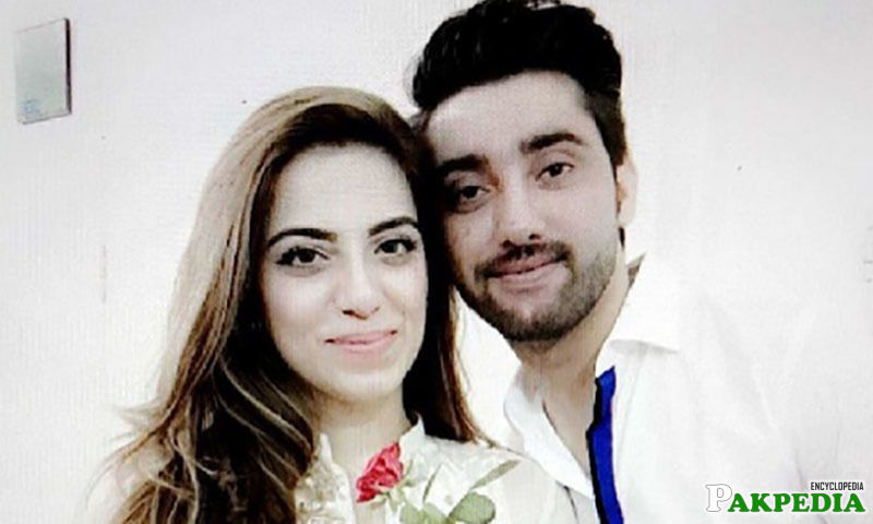 Amanat Ali with his Wife