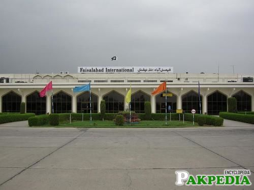 Faisalabad Airport Post Independence