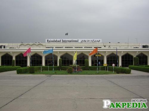 Faisalabad Airport Post Independence