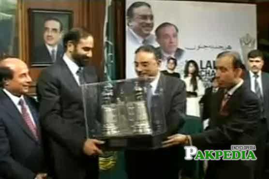 Son of Lahore award