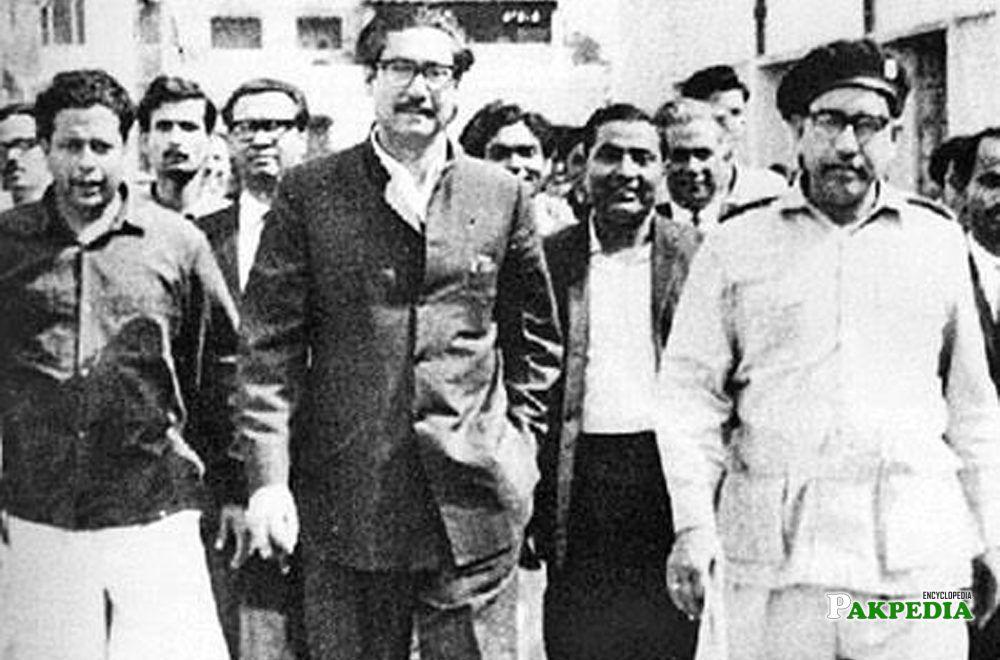 With Mujeeb-ur Rehman