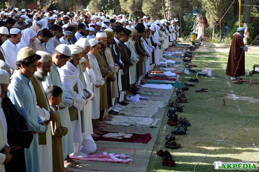 Eid ul Fitar Prayer