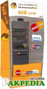 NIB Bank ATM Machine