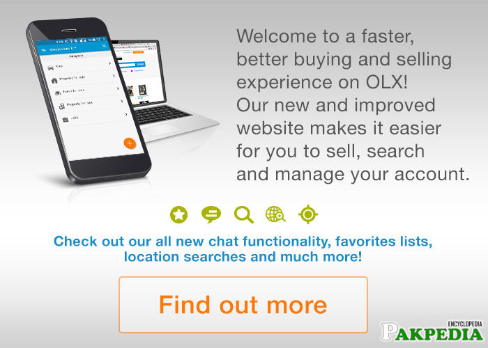 OlX Pakistan - Details, Brands, Story, Products, Locations & Map