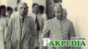 Quaid-e-Azam in London with Liaquat Ali Khan