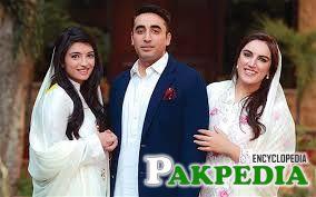 Bilawal Bhutto Zardari withh Sisters Asifa and Bakhtawar Bhutto Zardari