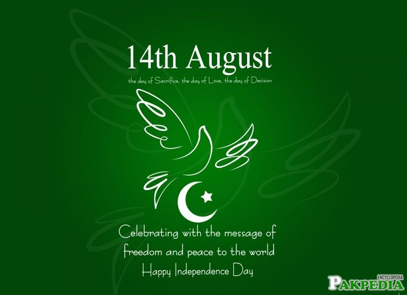 14 August, Yom e Azadi