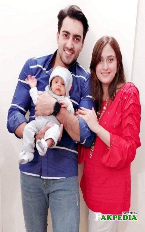 Faraz Farooqi Family