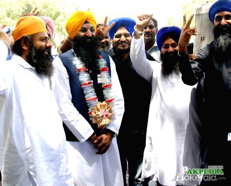 Ramesh Singh first ever Sikh Parliamanterian