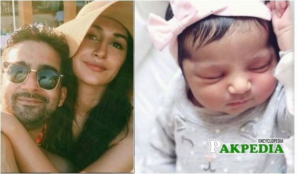 Hira Tareen and Ali Safina blessed with a baby girl