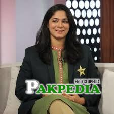 First female pakistani commentator Marina Iqbal