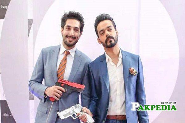 Gohar Rasheed with Bilal Ashraf