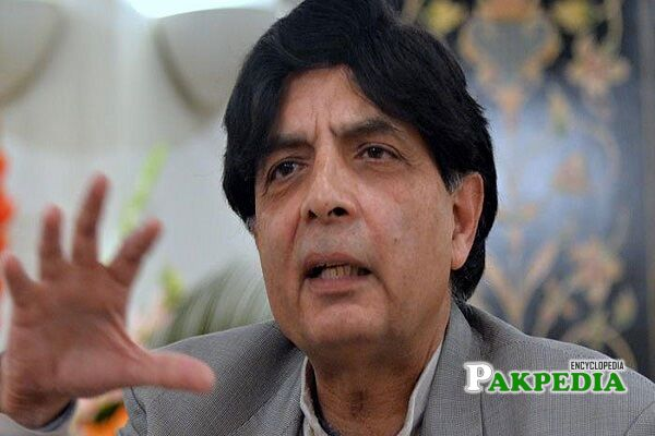 Chaudhry Nisar Ali Khan Biography