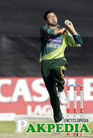 Mohammad Zahid is Bowling Hard