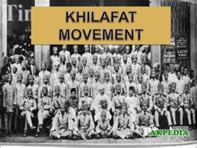 Group photo, Supporters of Khilafat Movement