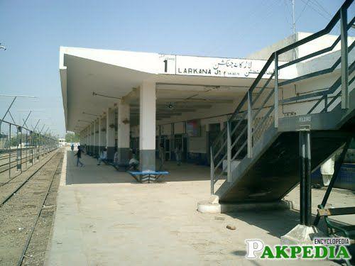 Railway Junction of Larkana