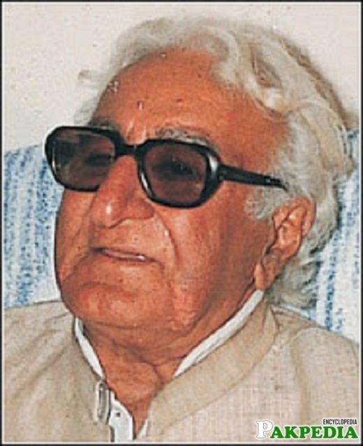 Khan Abdul Wali Khan - a pashtun leader