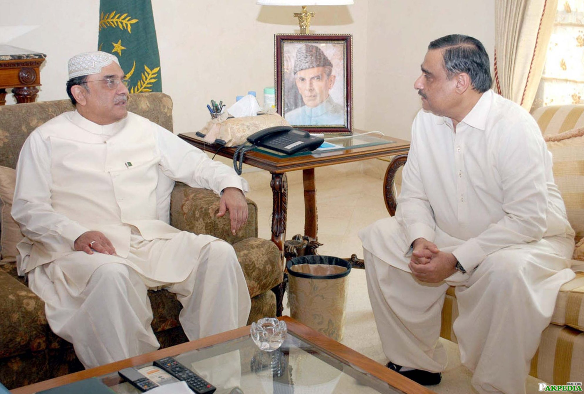 Asim Hussain Meeting With Former President of Pakistan Asif Ali Zardari