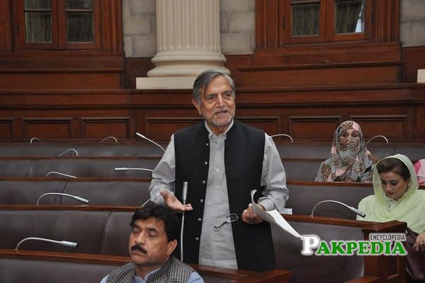 Muhammad Iqbal Gujjar during a session in Punjab Assembly