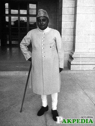 Khawaja Nazimuddin personal photo