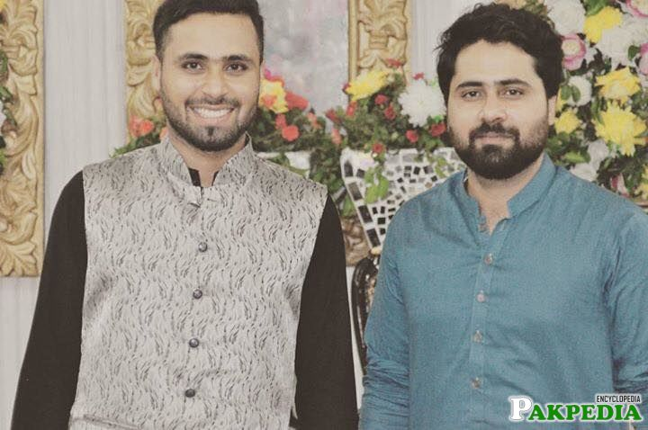 Faheem Ashraf With Brother