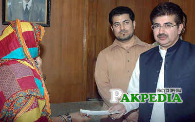 Distributing Cheque