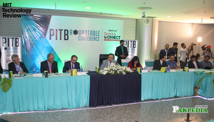 Dr saif in round table conference in lahore