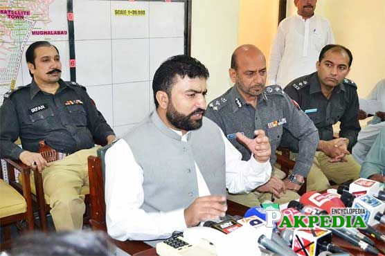 During a Press Conference