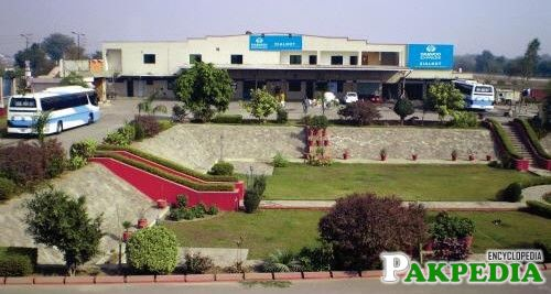Daewoo Bus Stand at Sialkot