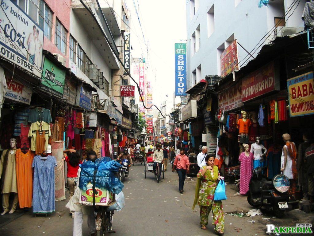 Bazar of Multan city