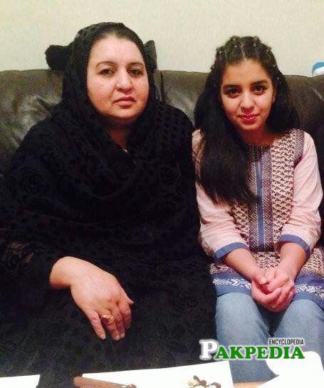 Saba Sadiq family