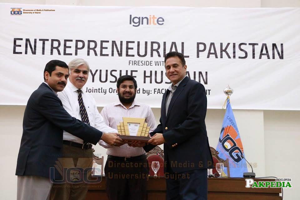 On entrepreneurial Pakistan