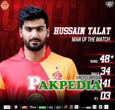 Hussain Talat selected for upcoming T20 series