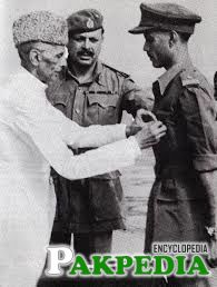 Ayub Khan with Quid e Azam