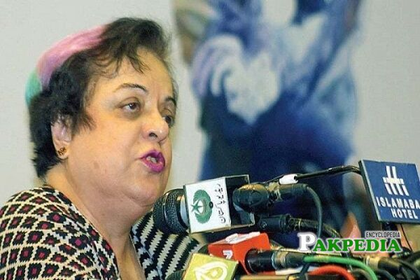 Shireen Mazari Hair