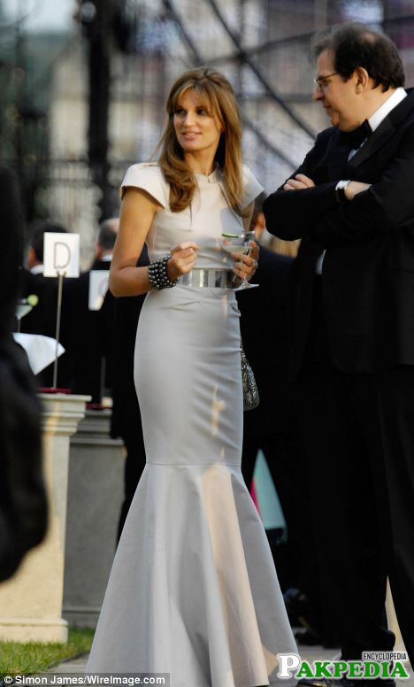 Jemima at an event