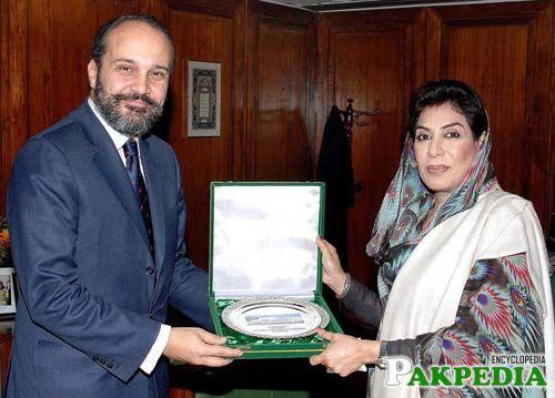 Tenure of Fahmida Mirza